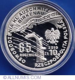 Image #1 of 10 Zlotych 2010 - Auschwitz - Pilecki