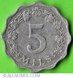 5 Mils 1972