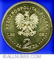 Imaginea #1 a 2 Zloti 2008 - Bronislaw Pilsudski