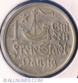 Image #2 of 1 Gulden 1923