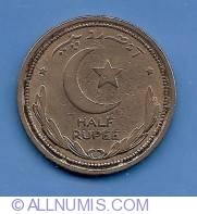 Image #2 of 1/2 Rupee 1948