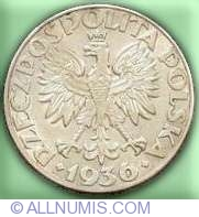 Image #1 of 5 Zloti 1936 - Corabie