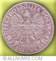 Imaginea #1 a 10 Zloti 1933 - 250 de ani de la Batalia Vienei