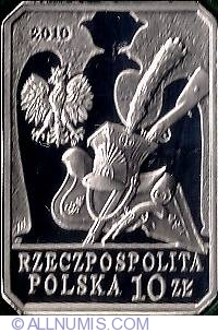 Image #1 of 10 Zlotych 2010 - Series - History of polish cavallery