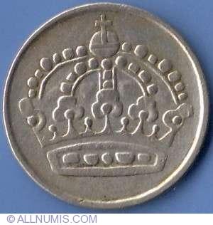ore ts gustaf vi adolf sweden coin