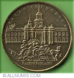 Imaginea #2 a 2 Zloti 1999 - Palatul familiei Potocki