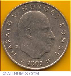 Image #1 of 20 Kroner 2002 - Niels Henrik Abel