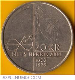 Image #2 of 20 Kroner 2002 - Niels Henrik Abel
