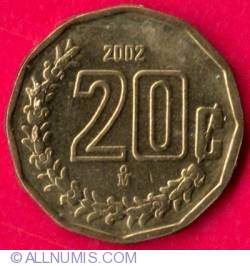 Image #2 of 20 Centavos 2002