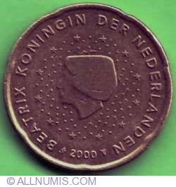 Image #1 of 20 Euro Cents 2000