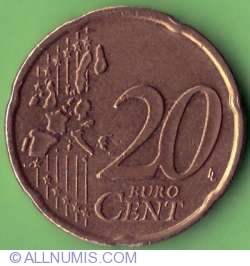 Image #2 of 20 Euro Cents 2000
