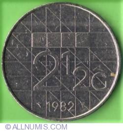 Imaginea #2 a 2 1/2 Gulden 1982