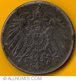 Image #2 of 5 Pfennig 1919 D