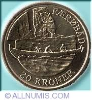 20 Kroner 2009 - Barca feroeza