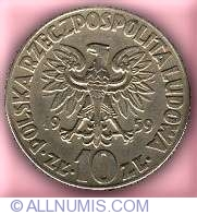 Image #1 of 10 Zlotych 1959 - Kopernik