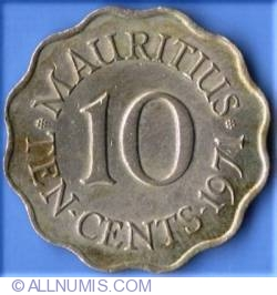Image #1 of 10 Cents 1971