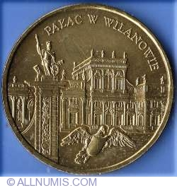 Imaginea #2 a 2 Zloti 2000 - Palatul Wilanow