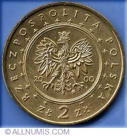 Imaginea #1 a 2 Zloti 2000 - Palatul Wilanow