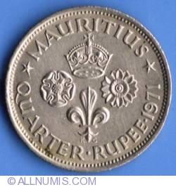 Image #2 of 1/4 Rupee 1971