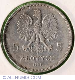 Imaginea #1 a 5 Zloti 1928