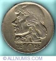 Image #2 of 10 Zlotych 1959 - Tadeusz Kosciuszko