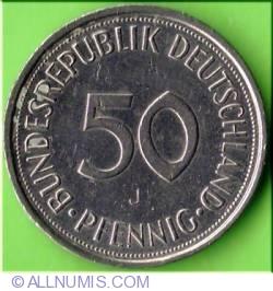 Imaginea #1 a 50 Pfennig 1993 J