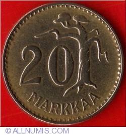 Image #2 of 20 Markkaa 1961