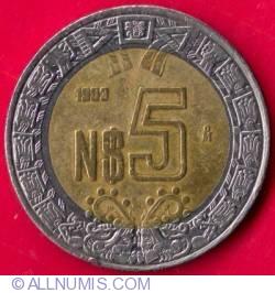 Image #2 of 5 Nuevo Pesos 1993
