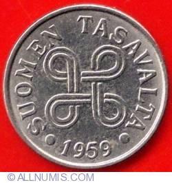 Image #1 of 5 Markkaa 1959