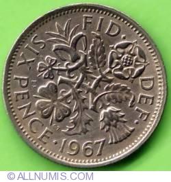 6 Pence 1967
