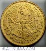 10 Zlotych 1925 - Boleslaw I Chrobry