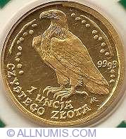 Imaginea #2 a 500 Zloti 1995 - Vulturul cu coada alba
