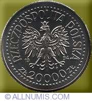 Imaginea #1 a 20000 Zloti 1994 - Noul sediu al Monetariei