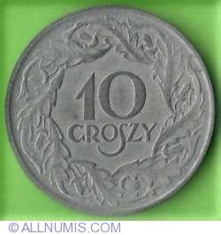 Imaginea #1 a 10 Groszy 1923 - Zinc