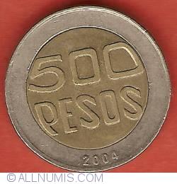 Image #2 of 500 Pesos 2004