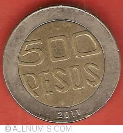 Imaginea #2 a 500 Pesos 2011