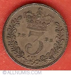 Threepence 1835