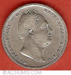 Sixpence 1834