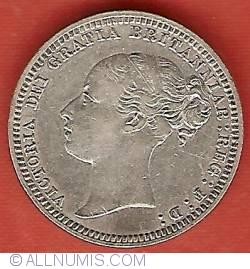 Sixpence 1879