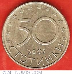 Image #1 of 50 Stotinki 2005 - European Union