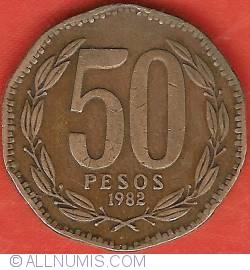 Imaginea #2 a 50 Pesos 1982