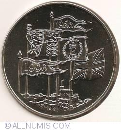 Image #1 of 5 Pounds 1996 - Aniversarea a 70 de ani a reginei Elisabeta a II-a