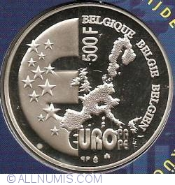 Image #2 of 500 Francs 2001