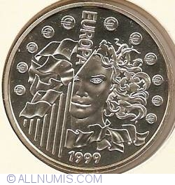 Image #2 of 6.55957 Francs (1 Euro) 1999