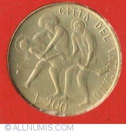 Image #2 of 200 Lire 1981 (III)