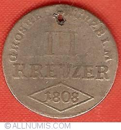 Image #2 of 3 Kreuzer 1808