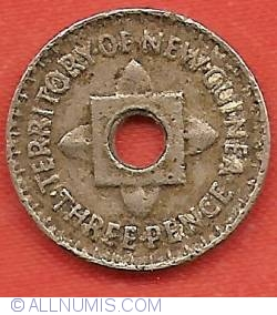 Image #2 of 3 Pence 1944