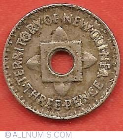 Imaginea #2 a 3 Pence 1944
