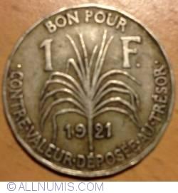 Imaginea #2 a 1 Franc 1921