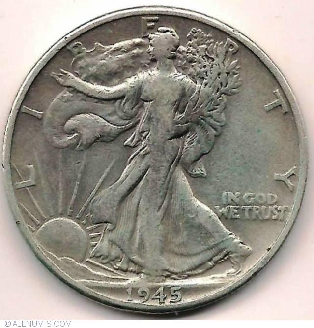 Half Dollar 1945 Half Dollar Walking Liberty 1916 1947